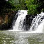 Cachoeira em Cruz Machado