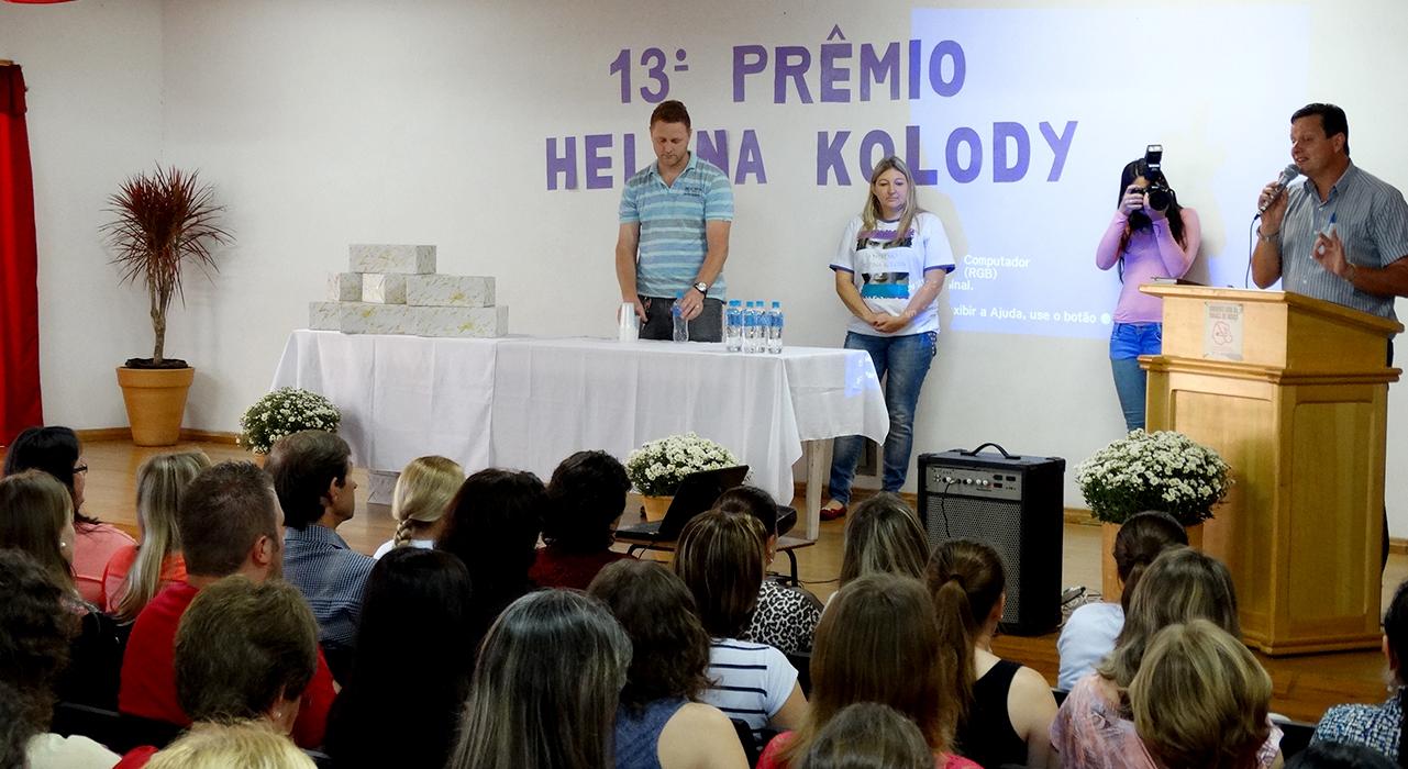 Secretaria da Educação realiza 13º Prêmio Helena Kolody