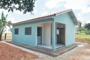 Prefeitura de Cruz Machado assina convênio para construção de 26 novas casas