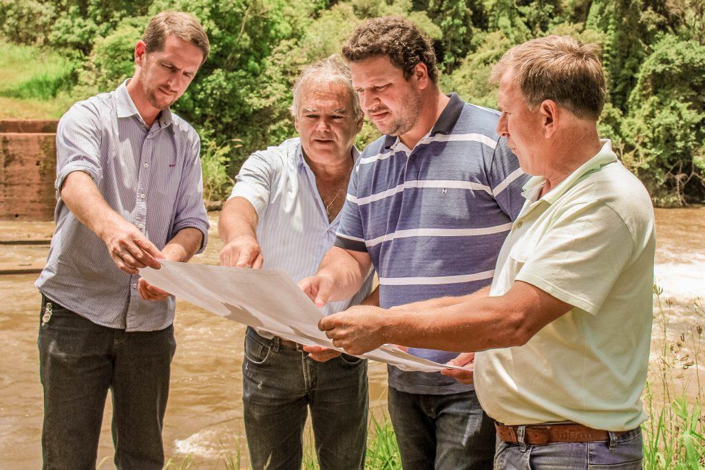 Cruz Machado e União da Vitória se unem para construção de ponte sobre o rio Palmital