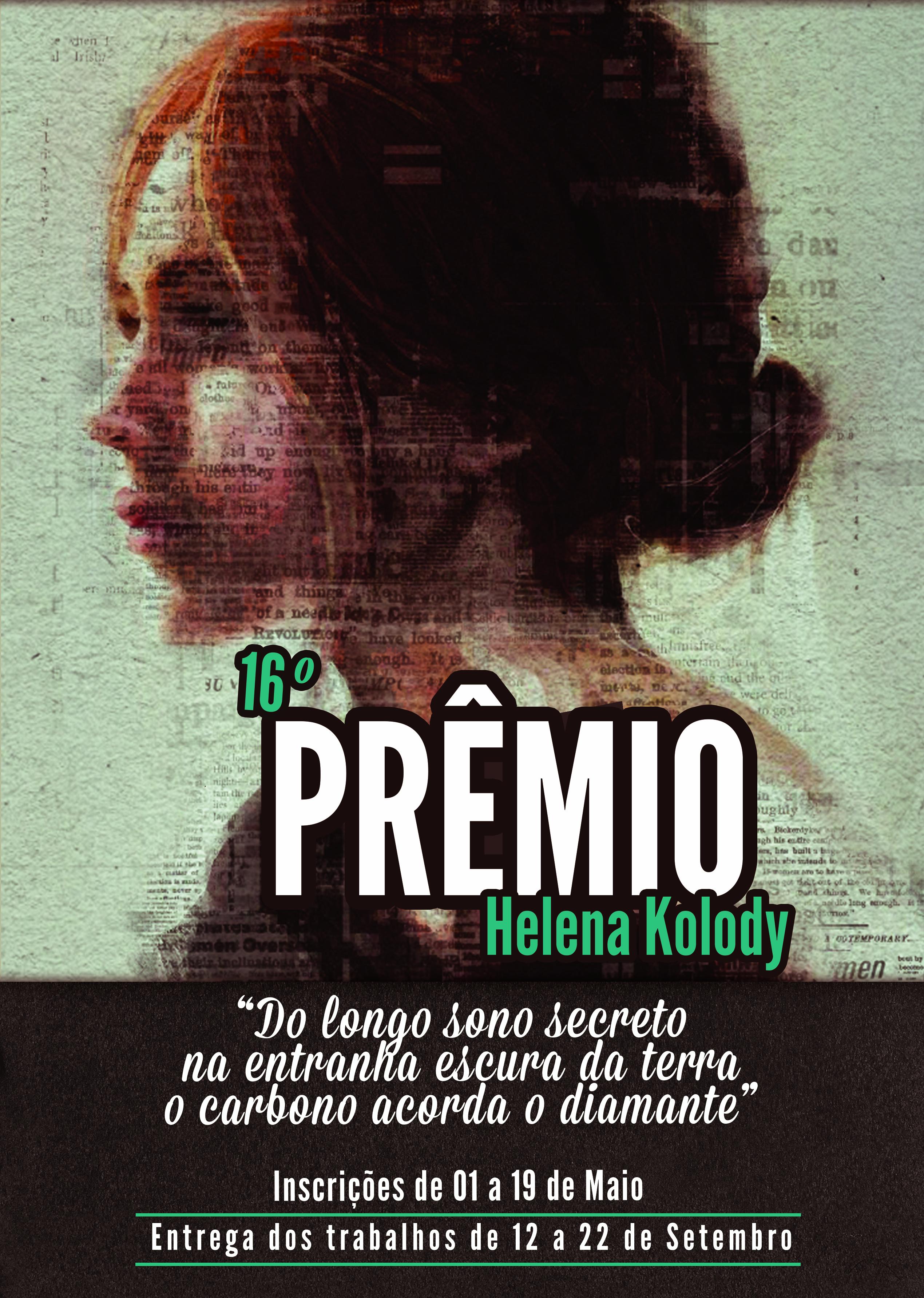Inscrições abertas para o Prêmio Helena Kolody 2017
