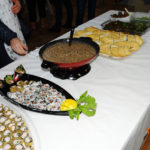 Oficina Cozinha Japonesa: Sopa Japonesa, Cream cheese caseiro, Sushi Hot Kamikaze, grelhados de legumes a moda oriental, sanduiche de Tilápia, Uramaki Filadélfia e salada de pepino japonês