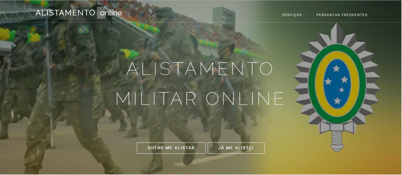 Cadastramento Militar Online