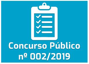 Concurso Público - 002/2019