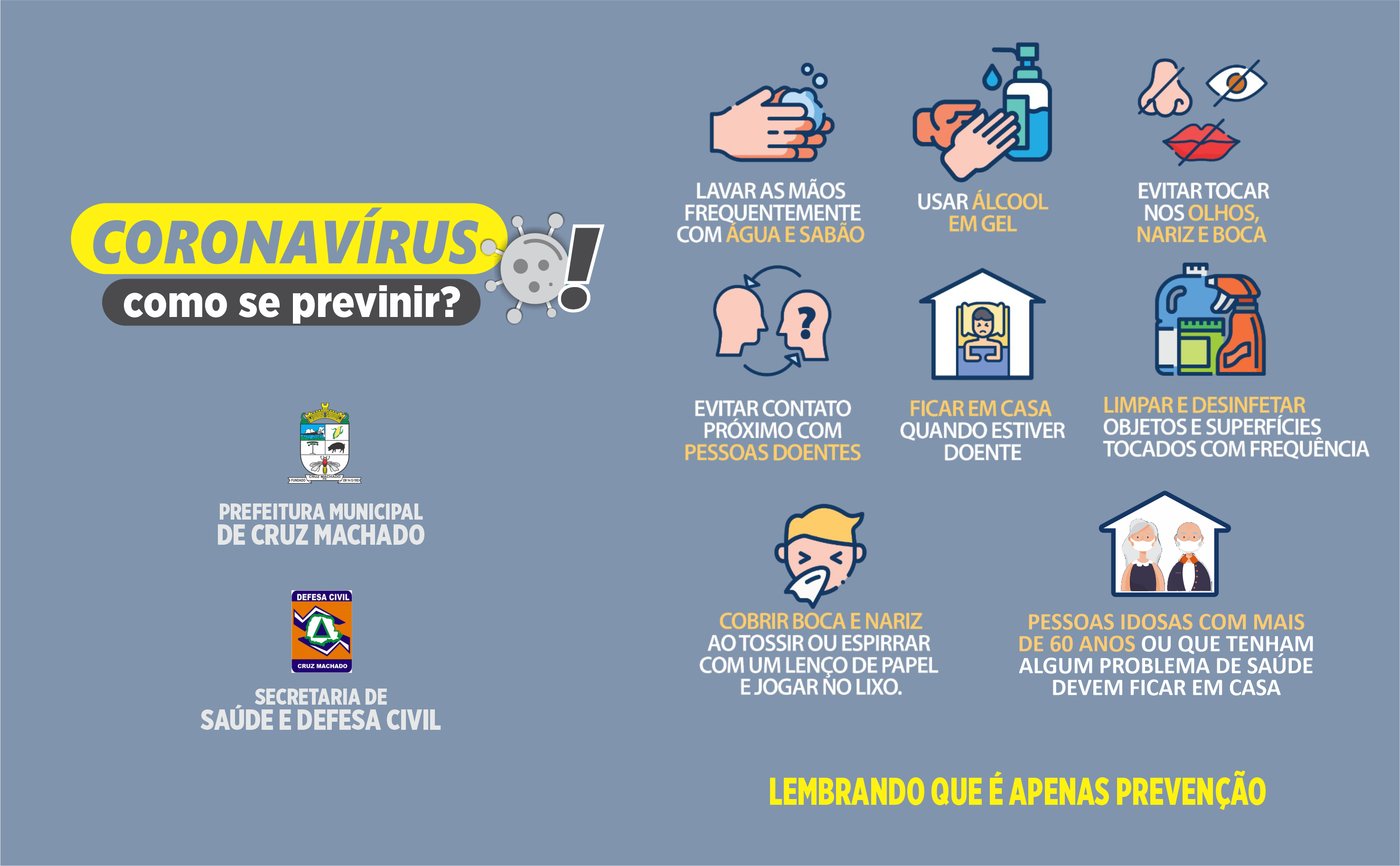 coronavirus como se previnir